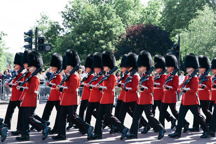 Uniform Group Of People Military Clothing Large Group Of People Real People Crowd Government Marching Military Uniform Armed Forces Army Soldier Parade Event Day In A Row Plant Men Rear View Marching Band