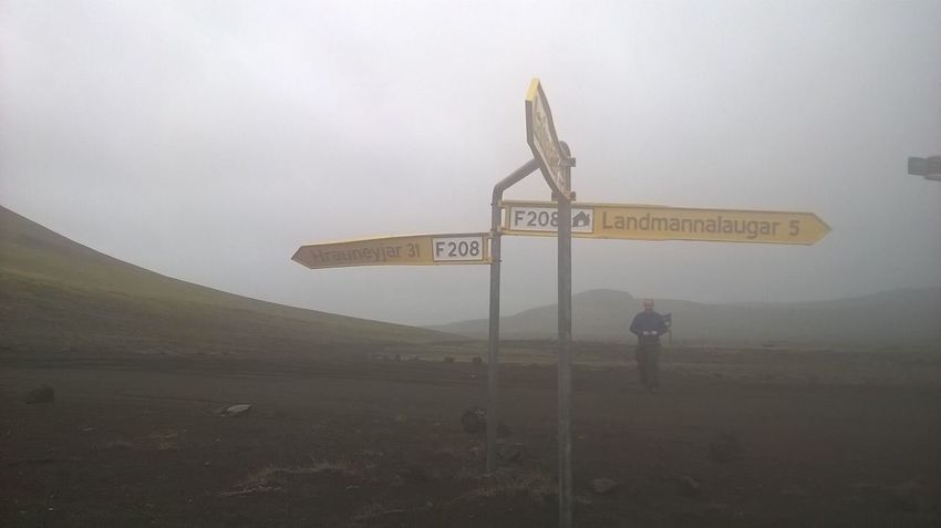 Miles Away Adventure Nature Iceland Foggy Morning Cold Morning Route Where To Go? Left Right Straight On Friends Holiday Visiting Landmanalaugar F208 Ice Cold Temperature Storm Fog Blurry Yellow Grey Mountain