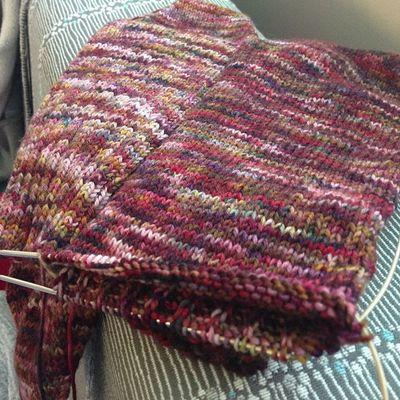 Poor neglected Socks get some love. Seattlechildrens Seattlechildrenshospital Knitting merino handdyed
