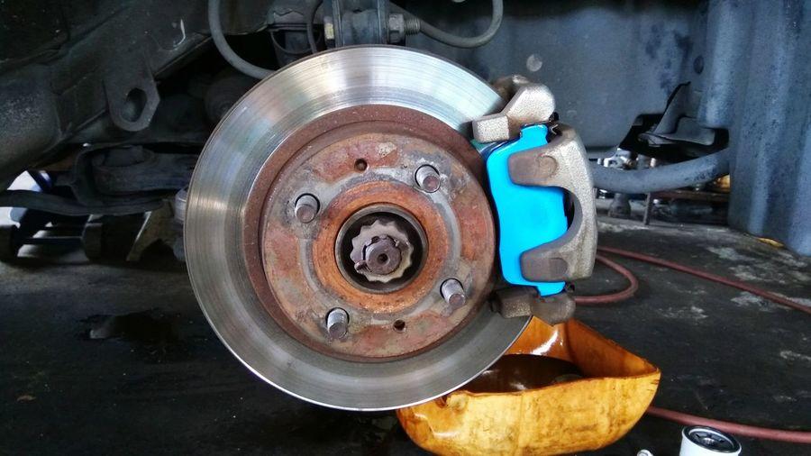 Brake disc of a