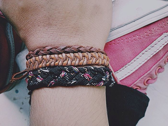 3 years ago... so fast to old ... Clothing Textile Close-up Bracelet Personal Accessory Variation Pink Color Person