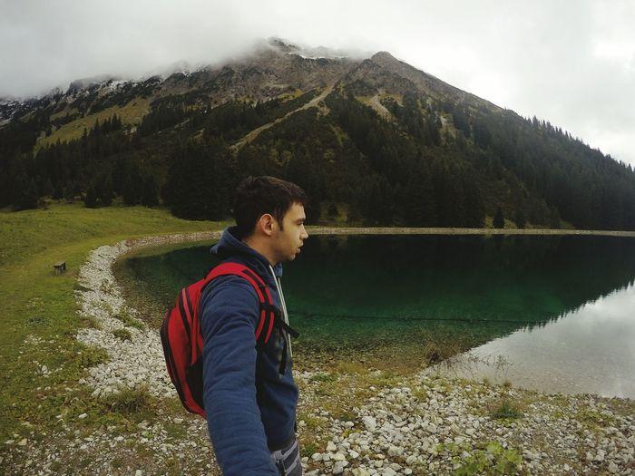 Alpsee Beautiful Nature Alpine Lake Nebelhorn The Alps Goprohero4