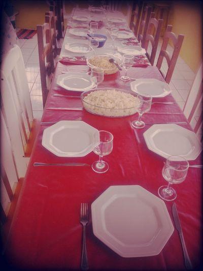 Almoço Em Familia Feliz Pascoaaaa!