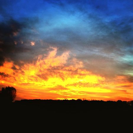 Check This Out Clouds And Sky Nature Sunrise Clouds Blue Sky Orange Sky