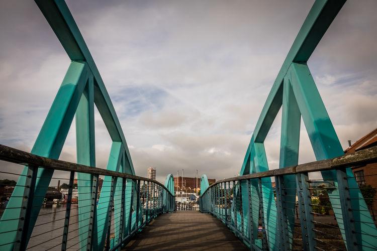 Bridge against sky