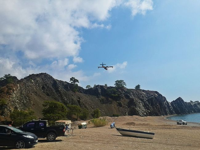 The Drive Airplane Cars Boat Seaside Outdoors Sky Air Vehicle Antalya, Turkey 2016 Phtography Transportation Dayofthephoto Travel Hello Hola! Merhaba Drive