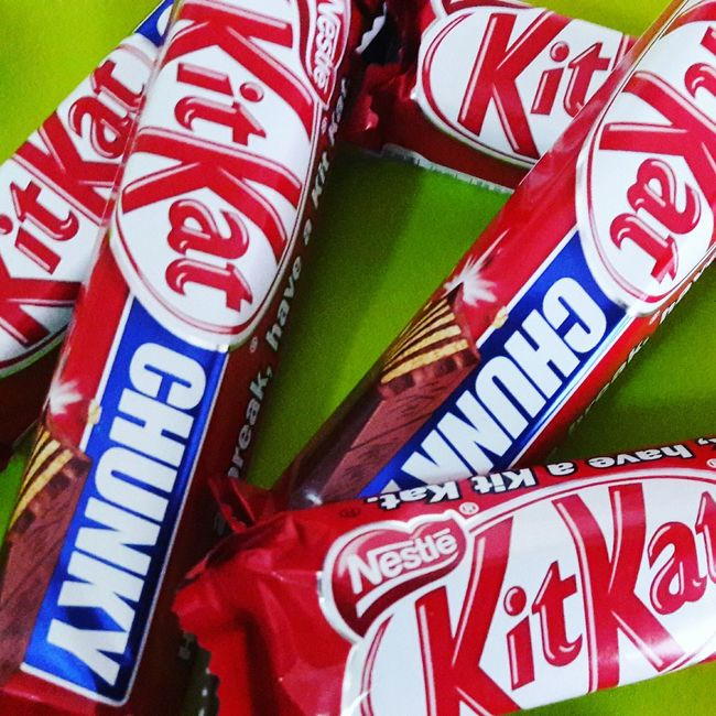Kitkat ChocolateSnacks! Taiwan Primary Colors Photography