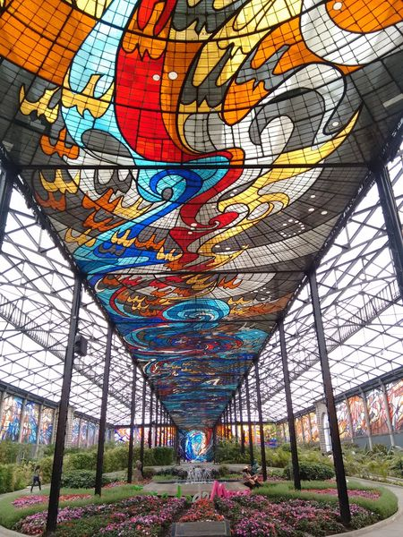 Cosmovitral Toluca Mexico Multi Colored Day No People Indoors  Mexico First Eyeem Photo Mobile Photography Travel Destinations Best Eyem Photo Moto G 2nd Gen.