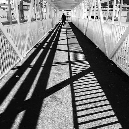 Dubaistreet Everydaymiddleeast Igersdubai Streetsnap Bnw Bnw_life Blackandwhitephotography Bnw_life Bnw_worldwide Shadowhunter Chasingshadows Lines Geometricpattern Shadows Ig_street Ig_bnw Igers Iphone6 Bnw_life_shots