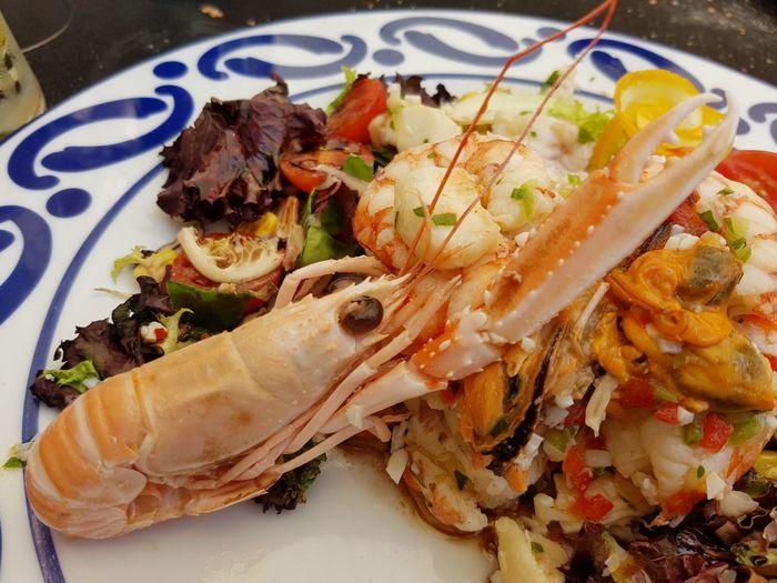 Salpicón de cigala, langostinos y mejillones de Lorbé Food Ready-to-eat Gourmet Seafruits Galicia
