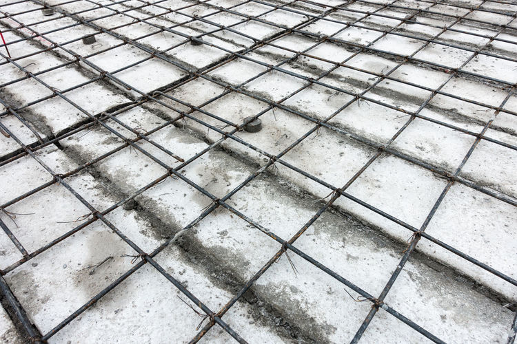 Rebar work Construction Construction Site Method Rebar Statement Work Working Concrete Engineering Floor Plank Pouring Concrete Procedure Processing