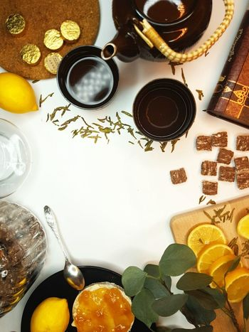 Flatlayphotography Flatlay Flatlays Flatlaystylist Flatlayoftheday Flatlaycontest Flatlayforever Flatlay_inspire Domkashtana Food And Drink Foodie Yammy  Dessert Foodflatlay Tee Teetime Drink Variation Directly Above High Angle View Close-up