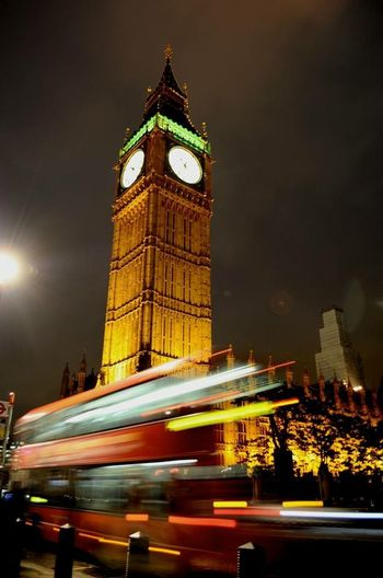 London London Bus Big Ben Most London Pic Fall