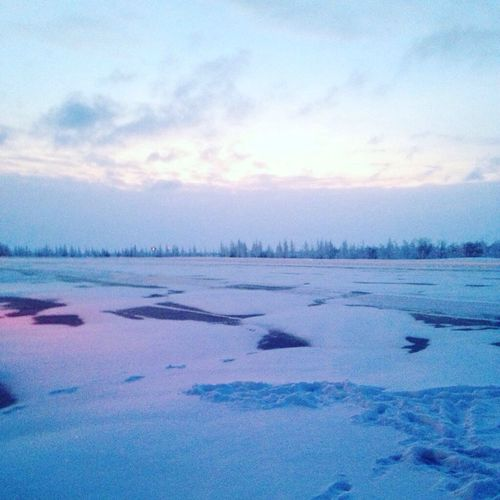Sky Nature Beauty In Nature Winter No People Snow First Eyeem Photo