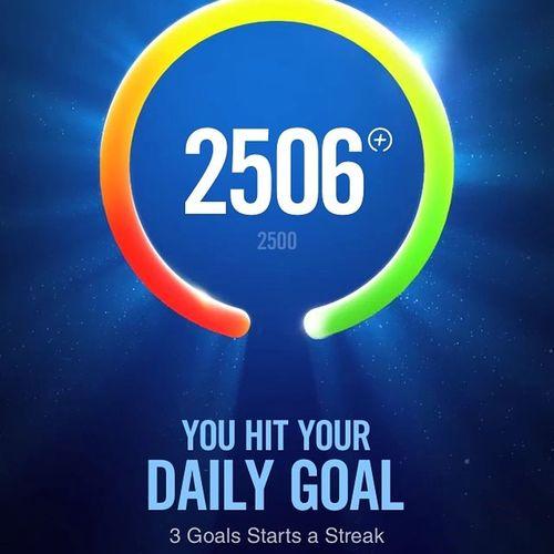 At last... After bermandi peluh... Nike Night Nikefuelband Gymaddict kakigym target goal irongymhardcore iphone5 gym