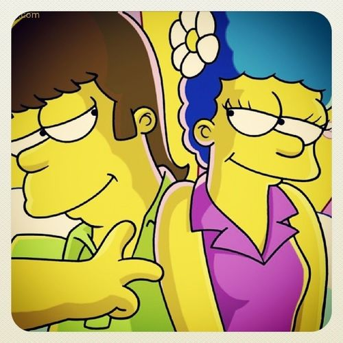Love Marge Homero LosSimpson