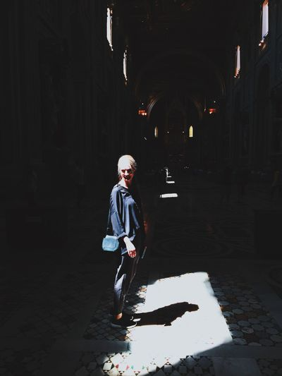 Praying The Street Photographer - 2015 EyeEm Awards Church Holy Light Light And Shadow
