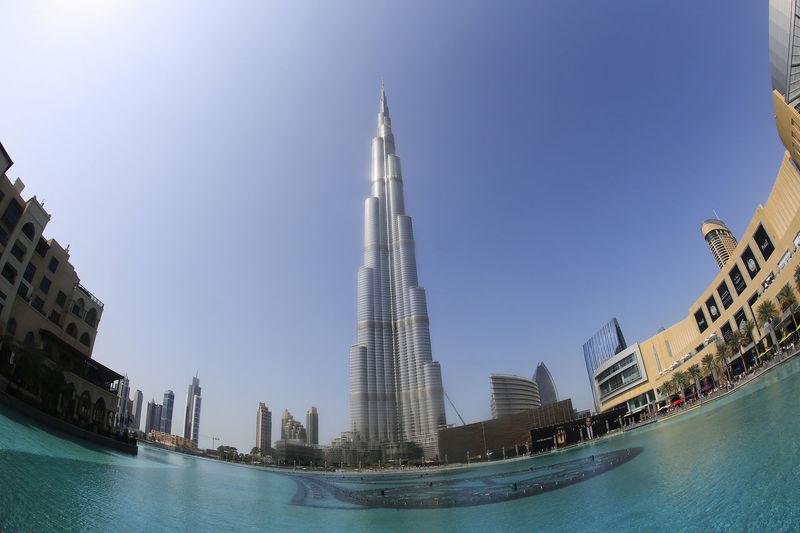 Burj Khalifa Arab Arabia Architecture Burj Khalifa Burjkhalifa City Day Dubai Emirates Horizontal No People Outdoors Sky United United Arab Emirates