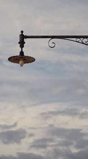 Skylight. Sky Day Outdoors Lamp Cloud - Sky Iron Fixture Photography