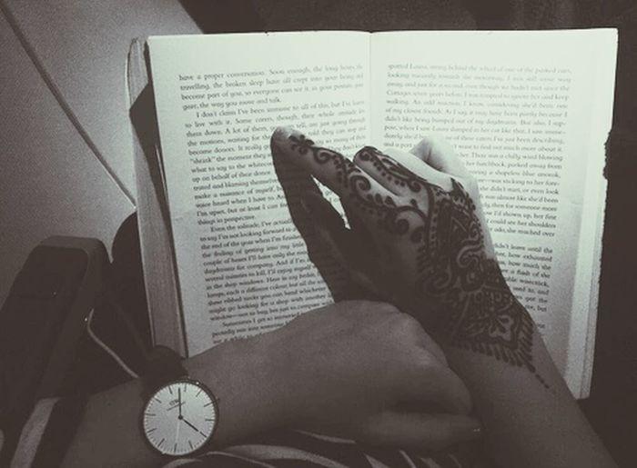 Henné ♡♡ Marocco Tatouage Tatoue Reading Maroc Fille Hanna Livre Lecture
