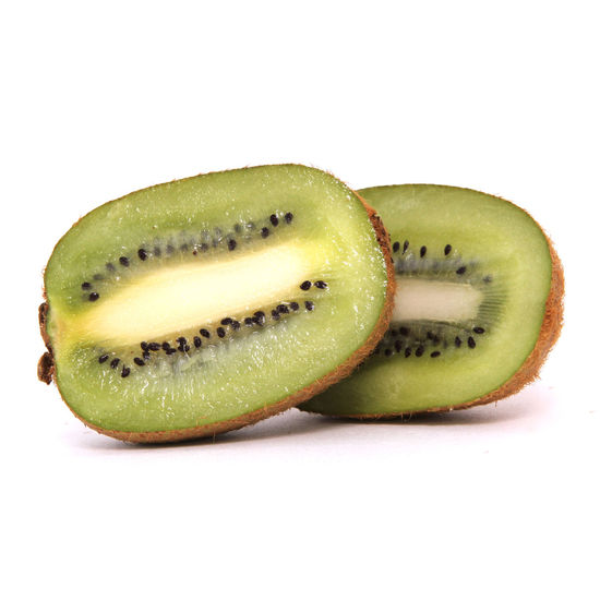 Studio Shot Healthy Eating White Background Food And Drink Food Fruit SLICE Green Color Wellbeing Indoors  Cut Out Kiwi Freshness Cross Section No People Seed Close-up Kiwi - Fruit Still Life Single Object Ripe