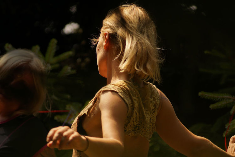 Young blonde girl dancing in the forest Body Movement Dancing Freedom Happiness Happy Nature Blond Hair Childhood Close-up Dancing Girl Day Enjoing Life Enjoying Life Girls Human Hand Joy Lifestyles Movement One Person Outdoors People Real People Rithym Sharp Light EyeEmNewHere The Week On EyeEm Second Acts Summer Exploratorium