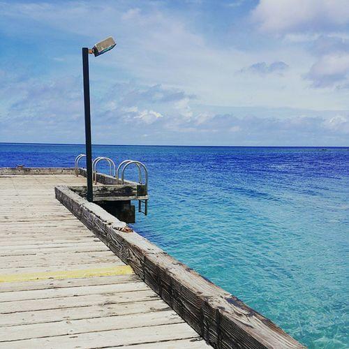 Merizopier Guam Blue Ocean Blue Sky Take A Dip
