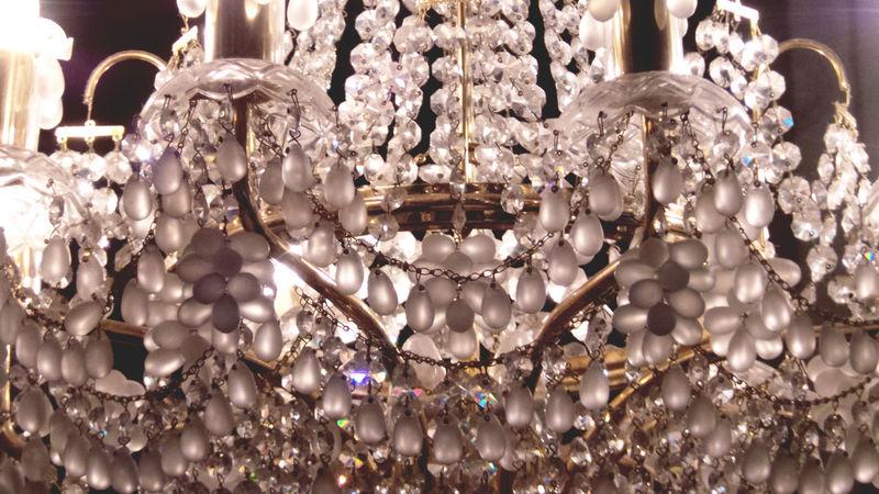 Beeds Chandelier Crystal Day Lamp Light Lighting Equipment No People
