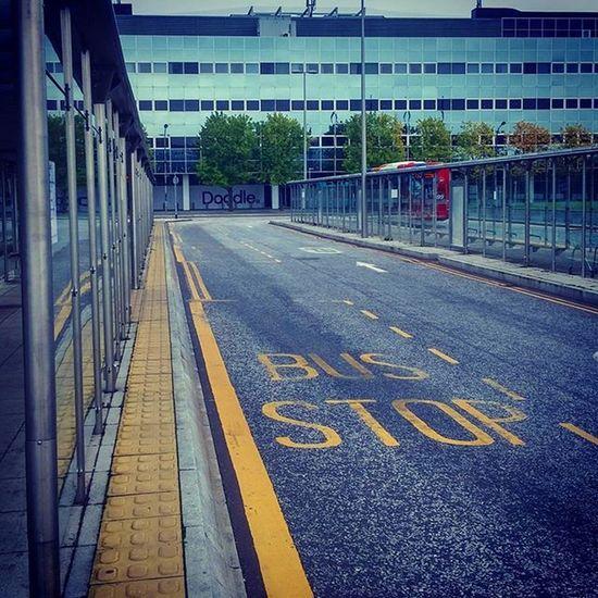 Straight line modernism Miltonkeynes England Streetphotography
