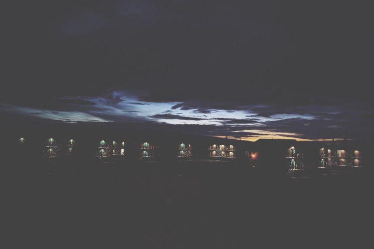 Alaska Healy Healyalaska Sky Sky And Clouds Sunset Sun Night Dark Lodges First Eyeem Photo