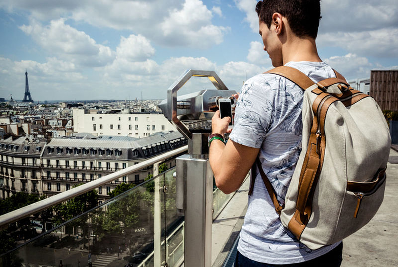 Lifestyles Paris France Rooftop People Lifestyle Summer