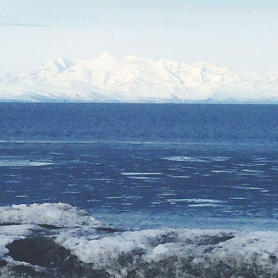 Alaska Outdoors Ocean Snow Winter Beach