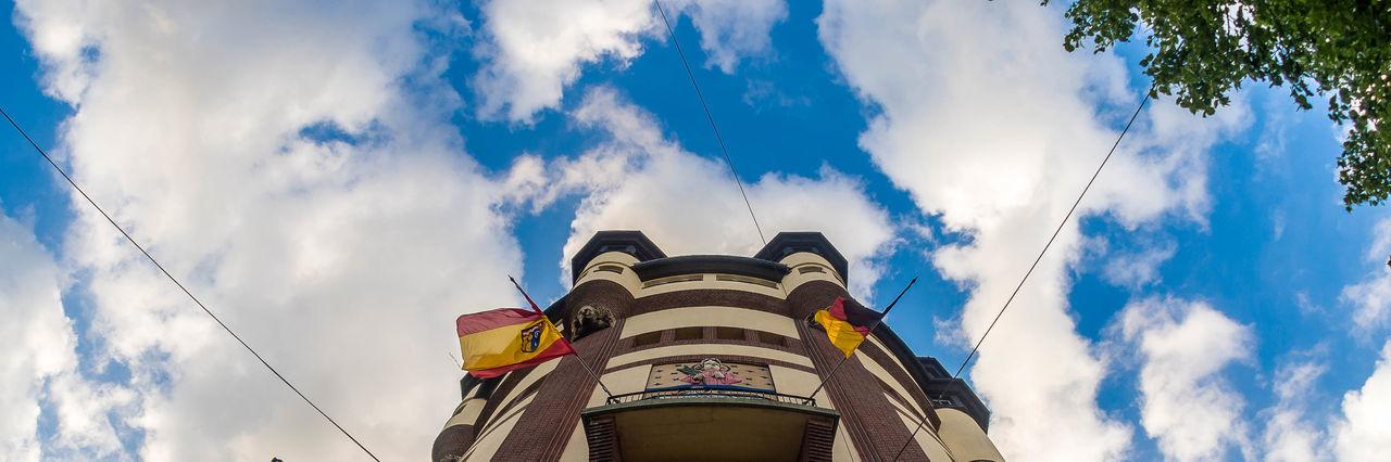Architecture City Cloud Mönchengladbach Outdoors Panoramashot Tower Wasserturm