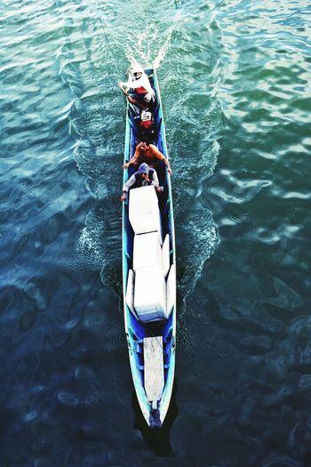 Nikon D5200 Nikonphotography EyeEm Gallery EyeEm Best Shots Tadaa Community Boat Life People Seascape People Photography Snapshots Of Life Kendari Bay