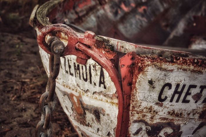 There, more of the ol' girl showing off her beauty in decay. Boat Decay Chetzamoka Nautical Vessel No People Outdoors EyeEm Best Shots EyeEm Gallery Tranquil Scene Dork'd Close-up Tadaa Community Fort Warden Port Townsend Pacific Northwest  Washington State
