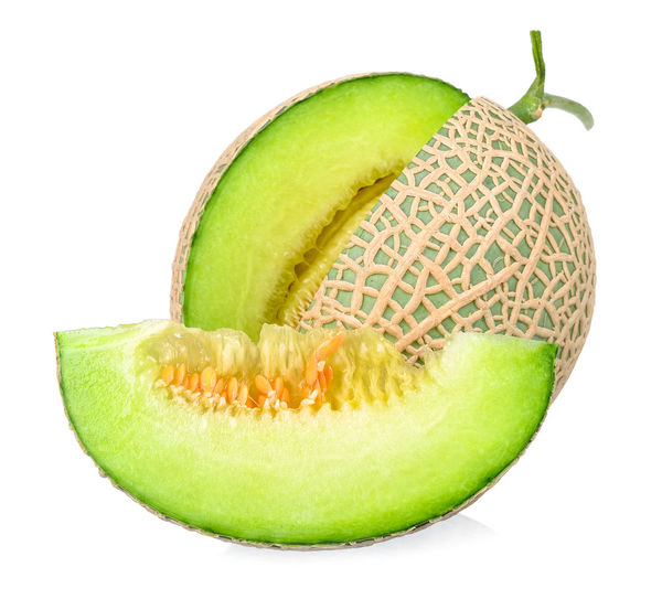 green melon and