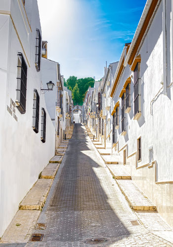 Beautiful Street in Estepa, province of Seville. Charming white village in Andalusia. Southern Spain. Picturesque travel destination on Spain. Estepa SPAIN Seville Tourism Tourism Destination White Villages Sun Europe Andalusia City Town Village Andalucía Travel Travel Destinations Blue Architecture Tower Summer Tourist Mediterranean  Beautiful Sky Street House Traditional Landscape Destination Vacations Landmark Picturesque Art Arts Culture And Entertainment