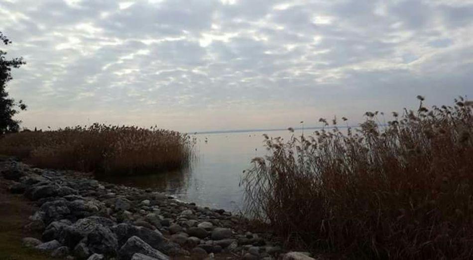 Lago di Garda Pacedeisensi Un Quadro ♡ Sky Water Beauty In Nature Horizon Over Water