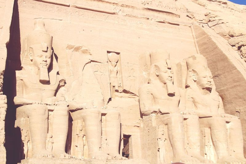 Photo by PANTI-I3R #Abusimbel# Abusimbel Egyptian Temple Egyptian Culture History Trip Egypt Sand No People Full Frame Day Land Sunlight Nature Backgrounds Textured  Pattern Outdoors Built Structure Architecture