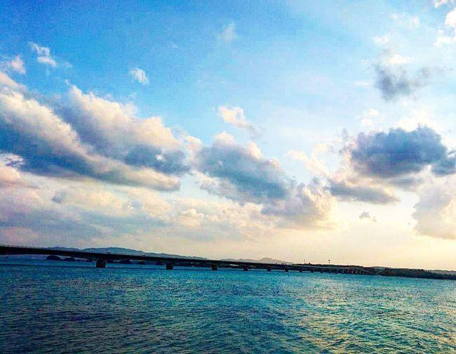 沖縄に修学旅行中の長男くんが、写真を送ってくれました。嬉しく思います。 Sky Nature Outdoors Blue Sea 沖縄行きたい 修学旅行 息子より Blue Sky Blue Sea