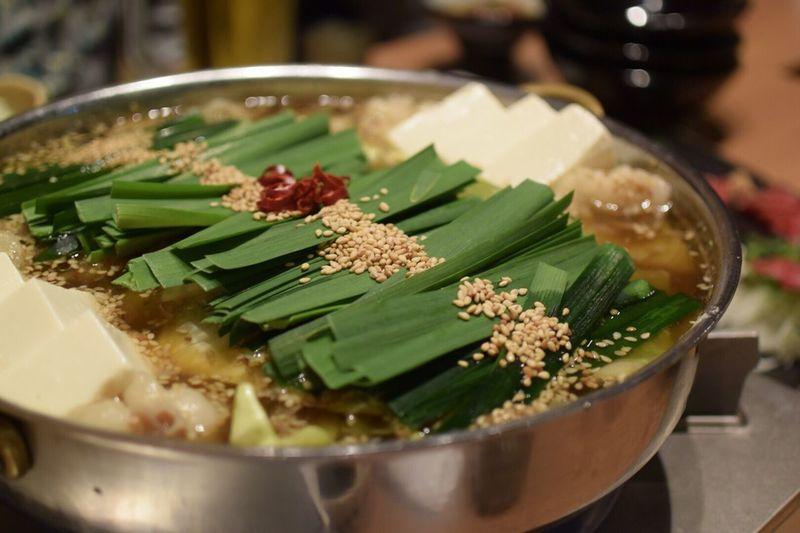 桜🌸はまだ咲かないので…団子…いや、モツ鍋で‼︎博多の思い出( ´艸`) Food Ready-to-eat No People The Purist (no Edit, No Filter) もつ鍋 Japanese Food