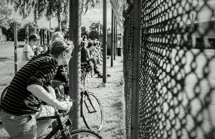 Watching The Game Audience Spectator Spectators Black & White Black And White Black&white Blackandwhite Photography The Moment - 2015 EyeEm Awards Crowd
