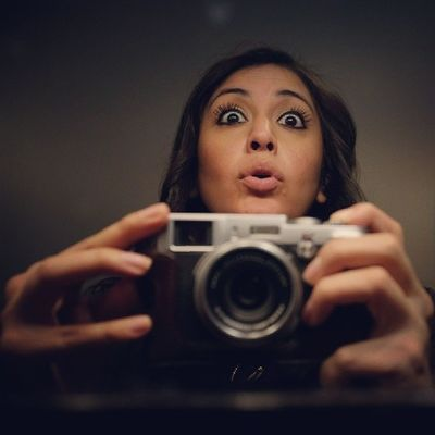 Selfie Selfietoamax Weirdgirl Handmodel lmao eyes fujix100s camera photographer bathroomselfie