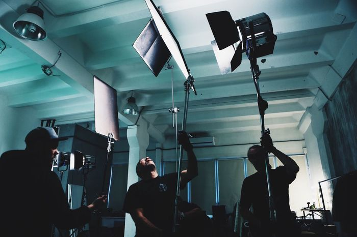 Indoors  Men Arts Culture And Entertainment Illuminated Adult Adults Only People Filming Film Industry Day Enjoy The New Normal VSCO The Week On EyeEm Editor's Picks