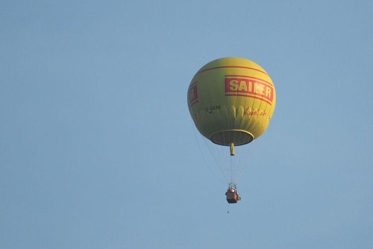 Sailer Heißluftbalon Hot Air Balloon Flying Sky Himmel Heißluftballon Sailer Summer Exploratorium
