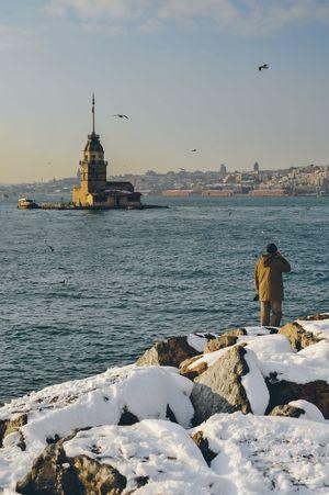 Istanbul Maiden Tower Turkey Travel Bosphorus Sightseeing