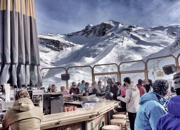 Apres-Ski IPhoneography Skiing ApresSki Taking Photos