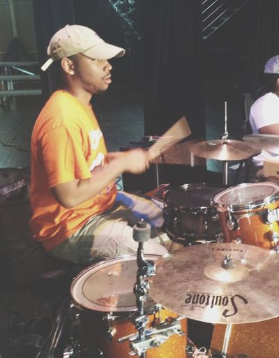 On Drums Smashin