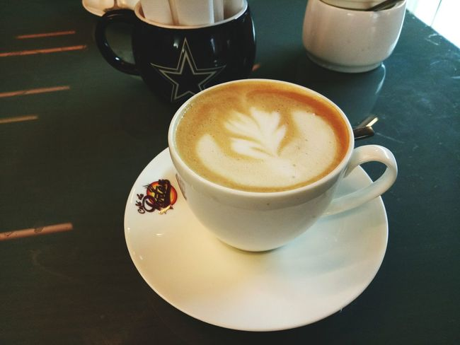 Mykindoflove Coffelover Lifesavers LoveMe Alonetime Missing Most Popular Coffee - Drink Cappuccino High Angle View Refreshment Table Indoors  Populer Photos Looking Coffee Cup