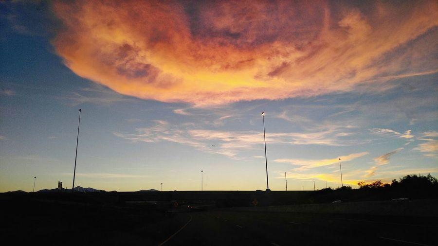 Limitless Sunset Outdoors Sky SLC,UT Salt Lake City Cars Summer Photooftheday Road Cloud - Sky Endoftheday Roadsidephotography